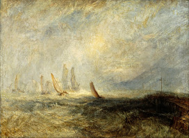 Turner_Fishing Boats Bringing a Disabled Ship Into Port Ruysdael, exhibited 1844