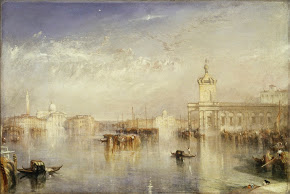 Turner_The Dogano, San Giorgio, Citella, from the Steps of the Europa, exhibited 1842