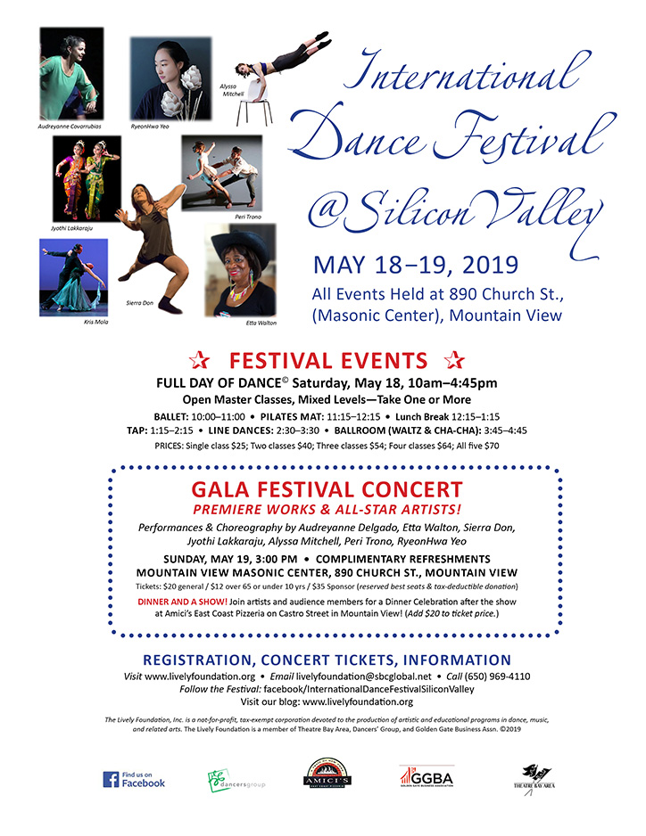INTERNATIONAL DANCE FESTIVAL-SILICON VALLEY | Lively Foundation